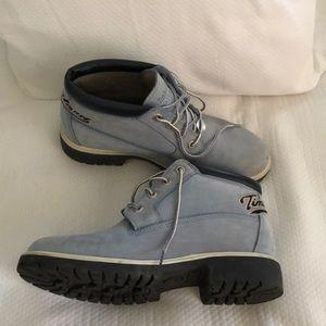 Timberland Shoes - Timberland light blue boots